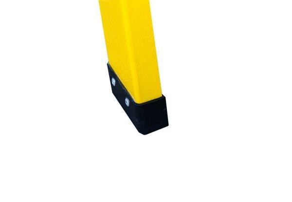 Pata-escalera-Fiberglass-Single-Sided-Stepladder-3-Tread-Top-cap-Casa-y-Mas